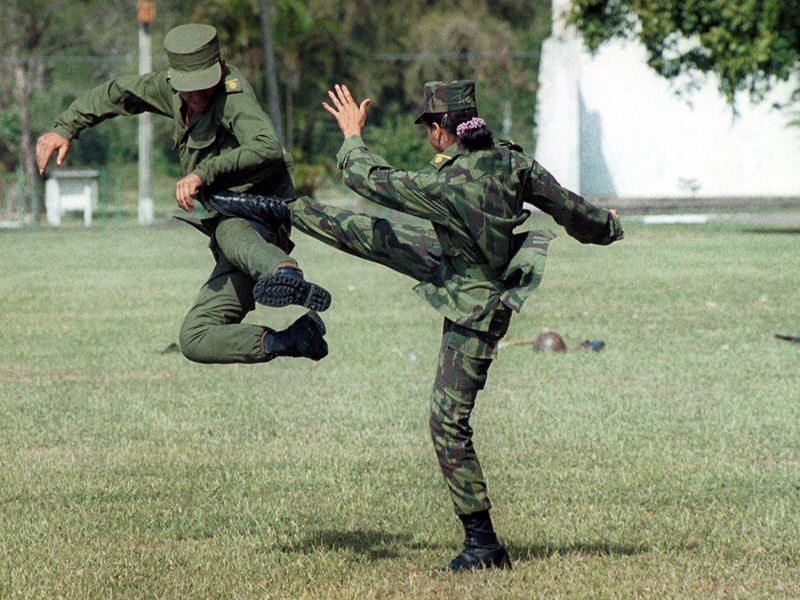 Military Fighting Techniques you can employ in the Street